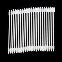 1/2 taschen Pro Staub Kostenloser Einweg Reinigung Tupfer Baumwolle Stick Für AirPods Kopfhörer Kopfhörer Handy Kostenlos Port Zubehör