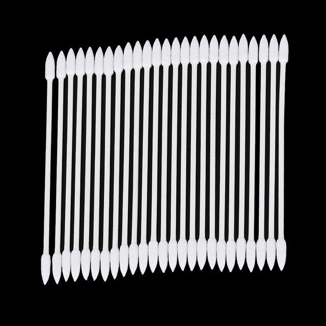 1/2 שקיות פרו אבק משלוח חד פעמי ניקוי ספוגית כותנה מקל עבור AirPods אוזניות אוזניות טלפון תשלום יציאת אבזרים