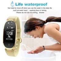 Fitness Tracker Women Smart Watch Waterproof Activity Pedometer Heart Rate Monitor Smartwatchs For Women Intelligent Watches S3