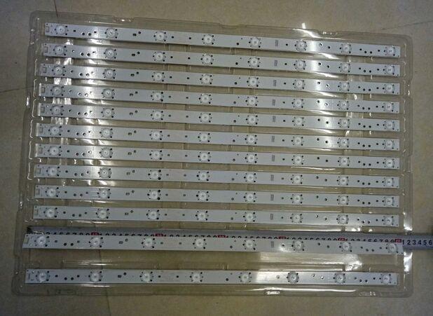62cm*2cm 8 Lamp Generic LED Backlight Strip Update For 32'' TV, Large-size LCD, Roadside Billboard Modification