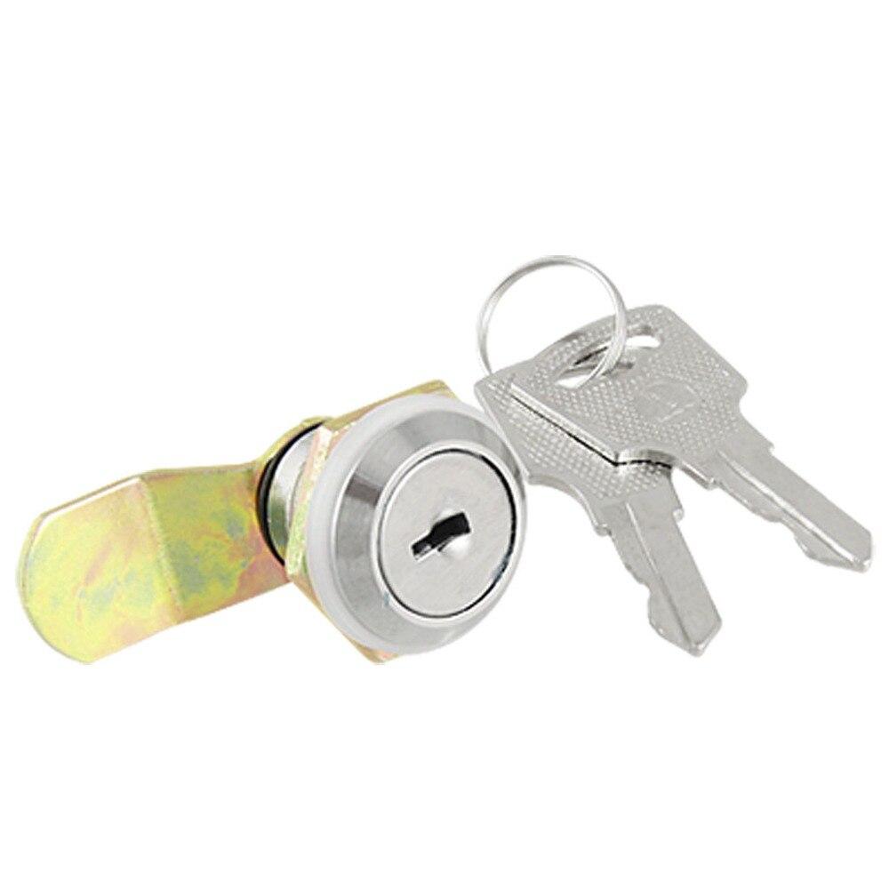 Uxcell Cabinet Tool Box Lock 2 Keys Hardware Locks Mailbox Cabinet Door Metal Single Point Security Cam Lock Hasps & Locks