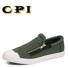 CPI 2017 Fashion Style Soft Men Casual Shoes Men Flats Driving Shoes Comfortable Breathable All-match canvas shoes PP-232