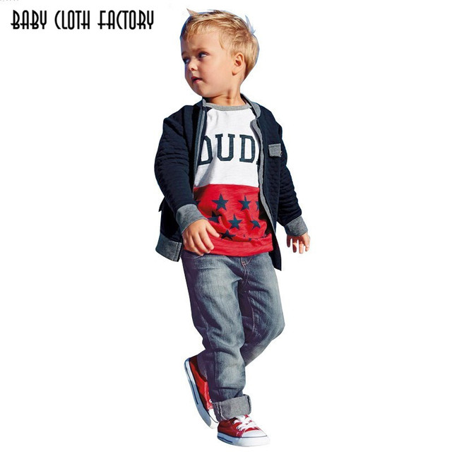 2837c1e8f842 New!Retail free Shipping kids clothes Boys Set 3 pcs t shirt + ...