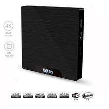 W95 Android 7.1 TV Box Amlogic S905W Quad Core CPU 2.4GHz WiFi 16GB/8GB eMMC Media Player Set-top Box(Add Airmouse)