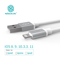 NILLKIN USB Cable for iPhone 8/8 Plus/X/7/6s For iPad Mobile Phone Cables MFi Lightning to USB Cable Fast Charger Data Cable