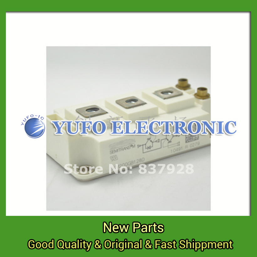 все цены на Free Shipping 1PCS  SKM200GB128D new original special power su-pply Module YF0617 relay онлайн