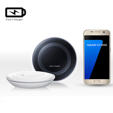 Fast Charger for Samsung Galaxy S7 /S7 Edge wireless Charging Pad for Note 5 N9200 /S6 Edge Plus G9280 QI Wireless Charger Dock