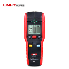 UNI-T UT387B Multifunctional Handheld Wall Detector Metal Wood AC Cable Finder Scanner ndustrial Metal Detectors cheap porable handheld metal detector professional super high sensitivity scanner tool finder for security checking detectors