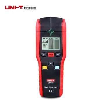 UNI-T UT387B Multifunctional Handheld Wall Detector Metal Wood AC Cable Finder Scanner ndustrial Metal Detectors