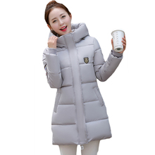 2017 New Fashion Autumn Winter Plus Size Parkas Coat Women Casual Tops Long Sleeve Hoodies Turtlenecks Zippers Outerwear XH413