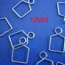 150pcs bag 12mm metal hooks for hanging balls