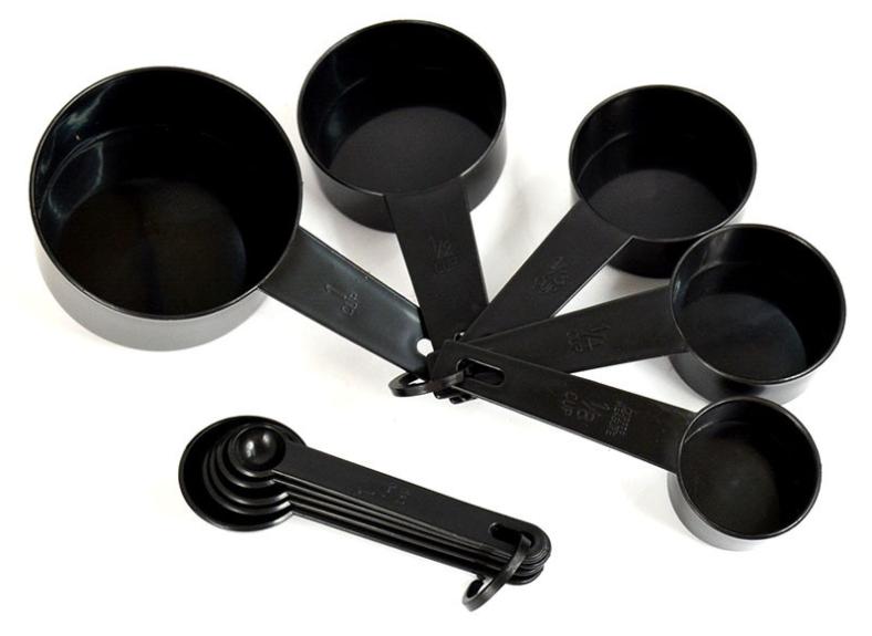 10pcs/set Kitchen Measuring Spoons Teaspoon Coffee Sugar Scoop Cake Baking Flour Measuring Cups Kitchen Cooking Tools Home Usage 4