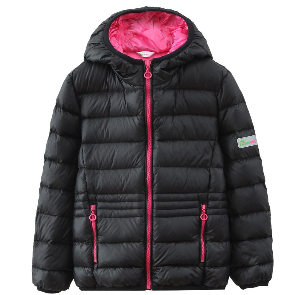 Hiheart 2016 Girl Winter Down Jacket Kids Coat Outwear Solid Russian Style Duck Parkas Jackets For Baby Girls