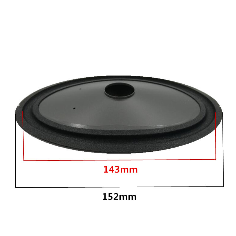 4 6 Inch Oval Speaker Paper Cone 152 mm 104 mm 22 mm Height 45 mm With Foam Edge Woofer Paper Cones in Power Cords Extension Cords from Home Improvement
