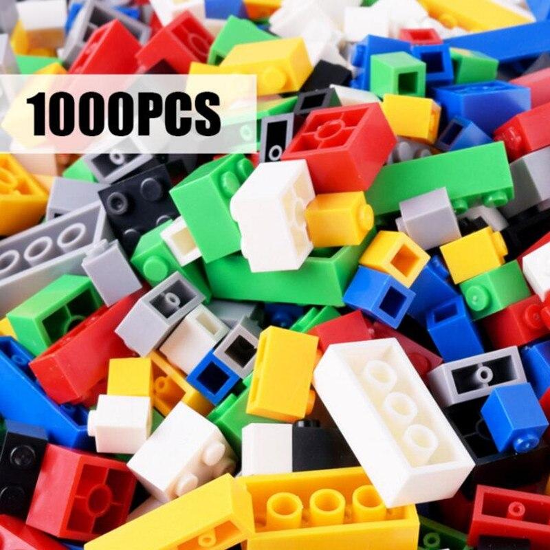 MylitDear 1000pcs Bricks Designer Creative Classic DIY Building Blocks Sets City Educational Toys For Children 10 Colors In Box