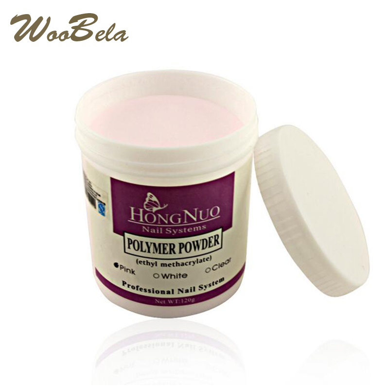 120g High Quality Acrylic Powder Base Nail Art Tips Primer Flase Nail Building Forming Acrylic Nails Glitter Powder