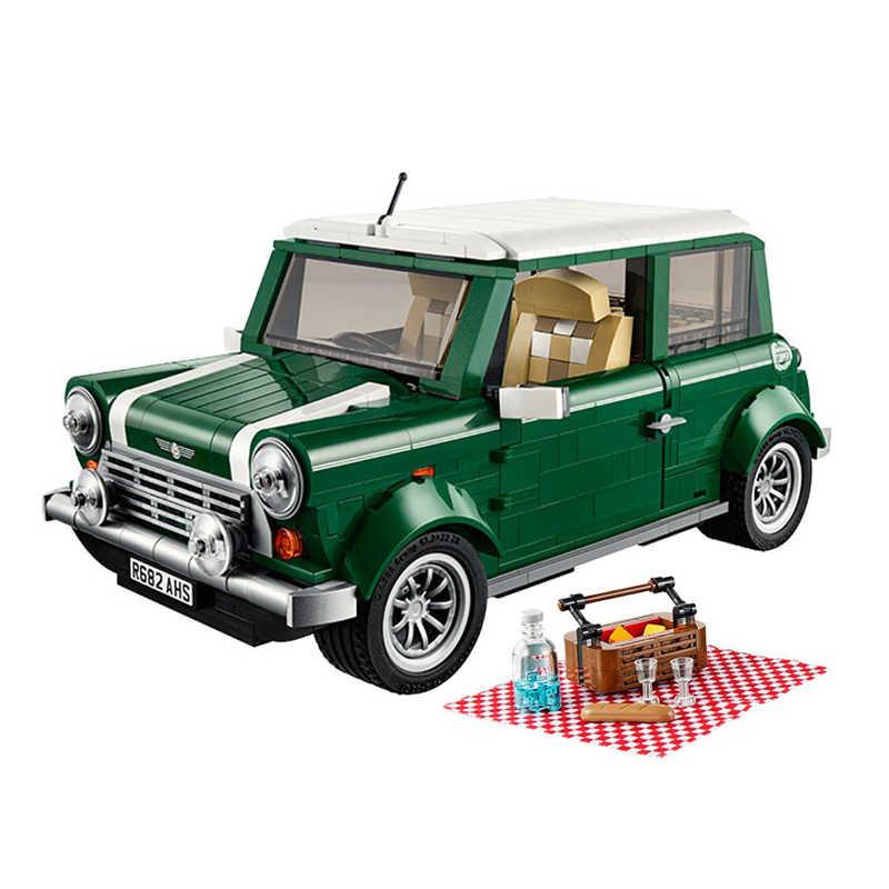 Criador Especialista Modelo Building Blocks Set Clássico Nostálgico Tema Piquenique Veículo Toy Kids Criador
