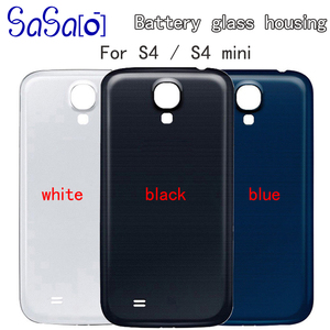 Image 1 - 10 шт. Задняя крышка батареи запасные части для samsung Galaxy S4 i9505 i9500/S4 mini I9190 задняя батарея корпус двери случае