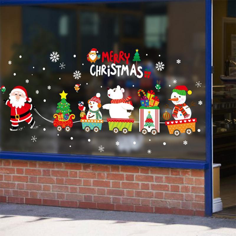 5pcs Xmas Tree Hanging Ornaments Christmas Wreathe Santa Claus Pendant Home Deco