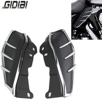 New ABS Plastic Motorcycle Mid Frame Air Deflectors Trims For Harley Road King FLHR 2010 2015 11 12 13 14