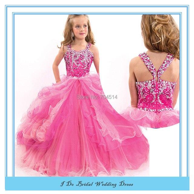 Desfile vestidos niños Beauty Pageant vestidos para niñas vestidos ...