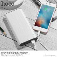 B18A 30000mAh Power Bank LED Indicator 5V2 0 Dual USB For Mobile Phones Tablet PC Portable