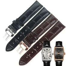 купить ISUNZUN WatchBand For MIDO Baroncelli M003307 M007.228 Genuine Leather Watch Straps 19MM Leather Watch Strap Bracelet Watchbands по цене 2460.41 рублей