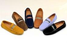 Новый кожаный скольжения на копейки бездельник мужская обувь для вождения