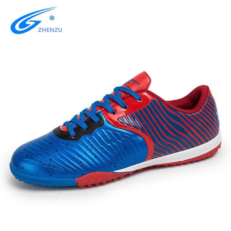 ZHENZU nouveauté offre spéciale haute qualité chaussures de Football en salle de Football hommes chaussures de Sport botas de futbol voetbalschoenen