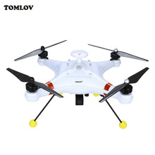 "Profesional Memancing Ikan Finder Drone 7 ""inch Percikan Brushless 5.8G FPV RC Quadcopter Drone RTF 700TVL Tahan Air Finder memancing"