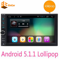 Quad Core 7 Inch 2 Din Android 5 1 Car Audio Stereo Radio With GPS 3G