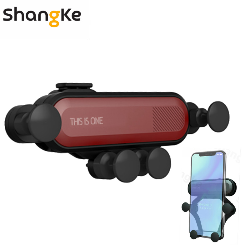 Car Phone Holder For Phone In Car Air Vent Mount Stand Universal  Mobile Phone Holder Universal Gravity Smartphone Cell Support