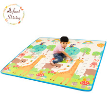 Baby Play Mat Floor XPE 2CM Thick Foam Carpet Crawling Pad Living Room Home Mats Large Rug for Children