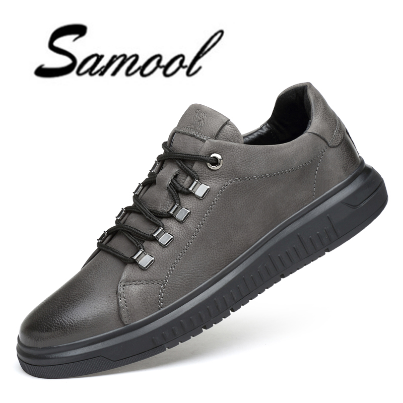 New Genuine Leather Men's Casual Shoes Soft Lace Up Male Fashion Brand Flats Outdoor Cool Man Luxury Designer Shoes XX4 cd iron maiden a matter of life and death