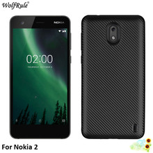 WolfRule For Fitted Cases Nokia 2 Case Soft Silicone TPU Bum