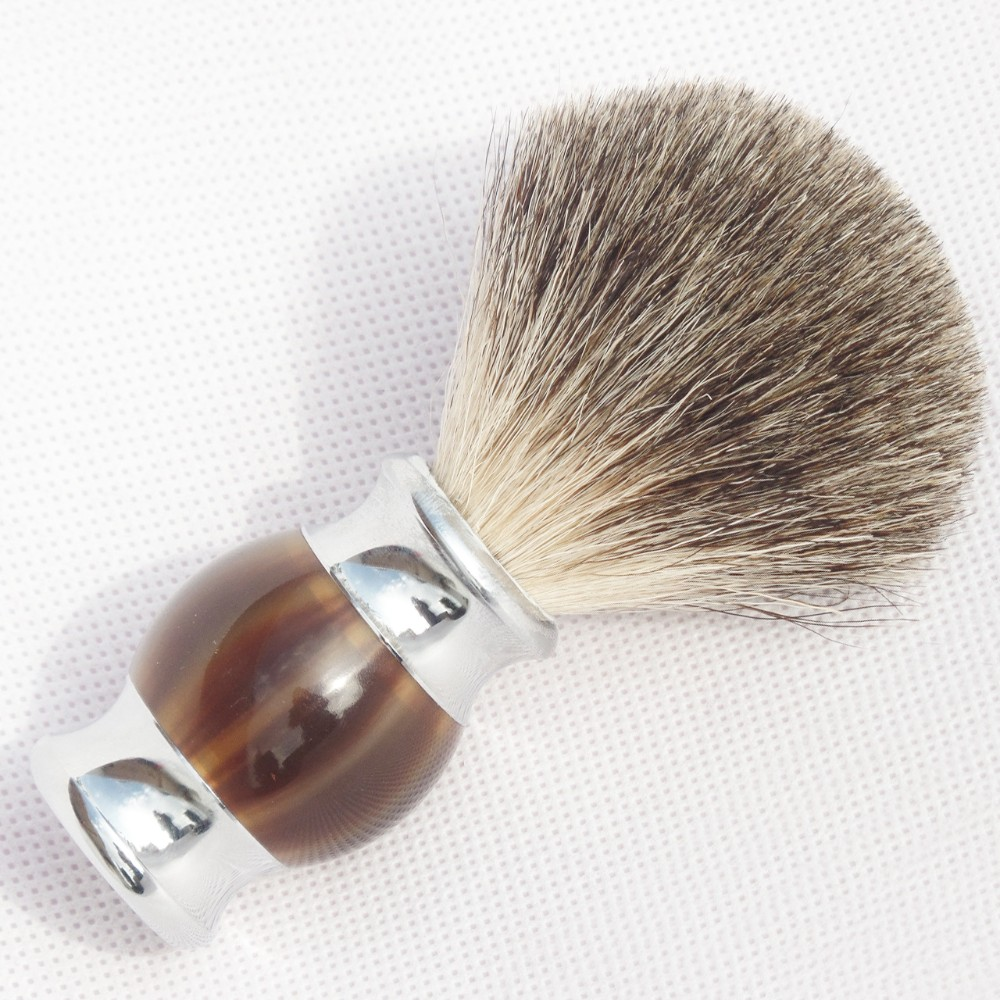 badger hair barber brush