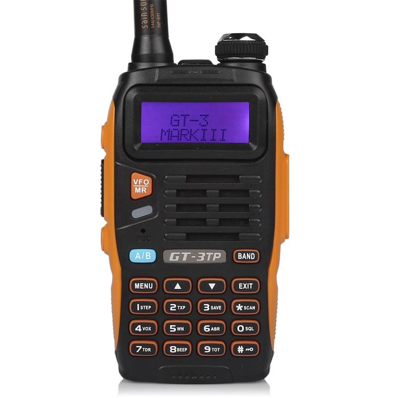 Baofeng GT-3TP Mark III Kit 1/4 / 8W High Power VHF UHF Tvåvägs - Walkie talkie - Foto 2