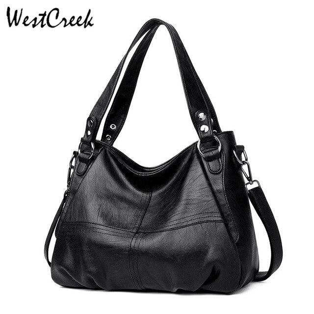 WESTCREEK Brand Luxury Handbags Women Bags Designer High Quality Leather Shoulder Bag Female Casual Tote Bag Ladies Vintage
