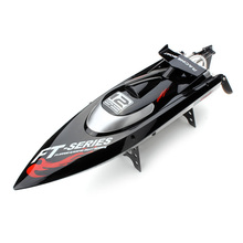 F15277/8 FT012 Professional 2.4G 4CH Remote Control Speedboat Brushless RC Racing Boat High Speed 40-45KM/H Upgraded FT009