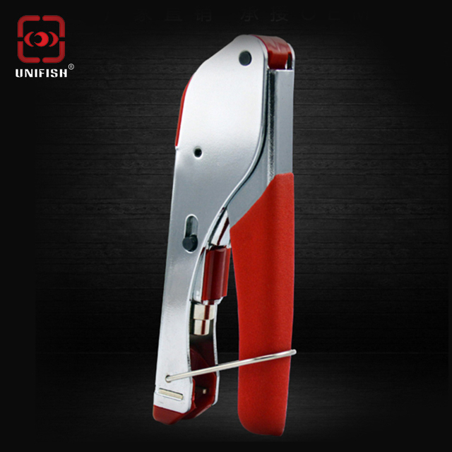 UniFish Connector Compression Tool Crimper RG59 RG6 Cable TV Crimping squeezing pliers Coaxial cable F head cold press clamp