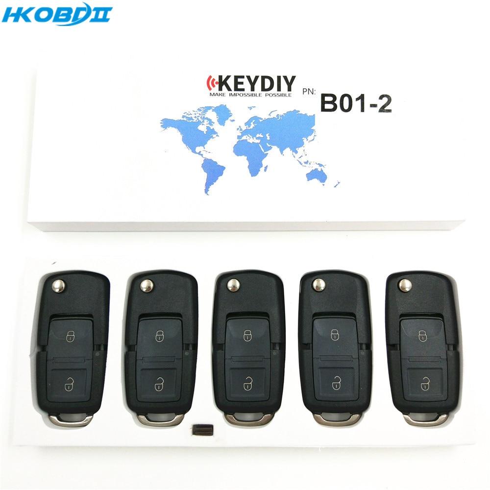 HKOBDII KEYDIY Original KD B01 2 2 Buttons B series Universial Remote For KD900 KD X2
