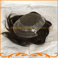 2016 Новое прибытие 8*10 база верхней и передней швейцарский шнурок с вокруг пу Индийские волосы отбеливателя узел мужчины парик бесплатно доставка
