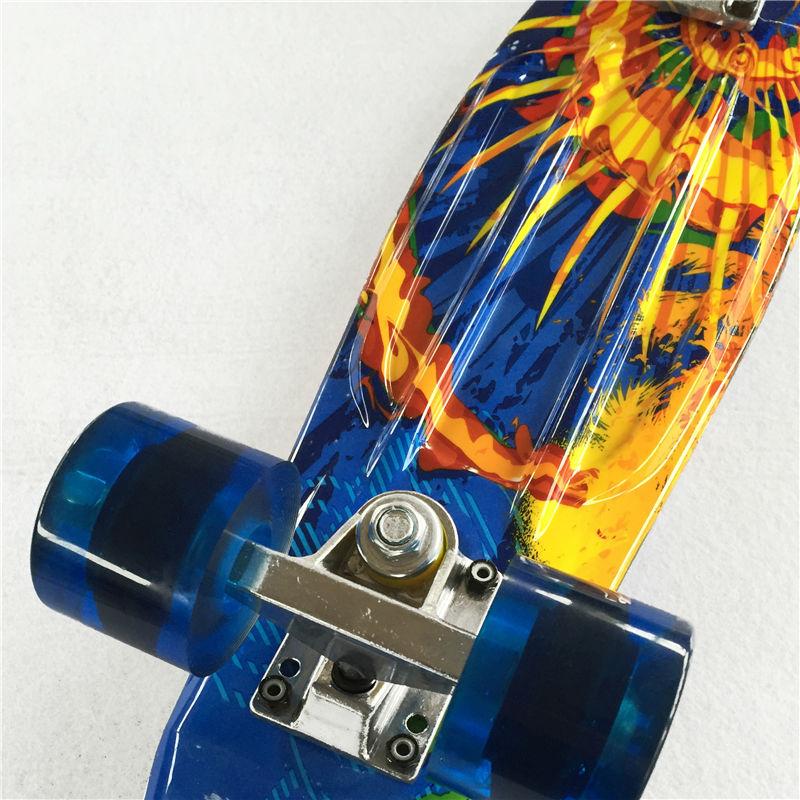 Image 3 - Новая 22 дюймовая Высококачественная уличная доска или доска в виде банана для скейтера, чтобы наслаждаться скейтбордингом с мини ракетной доской-in Скейтборд from Спорт и развлечения