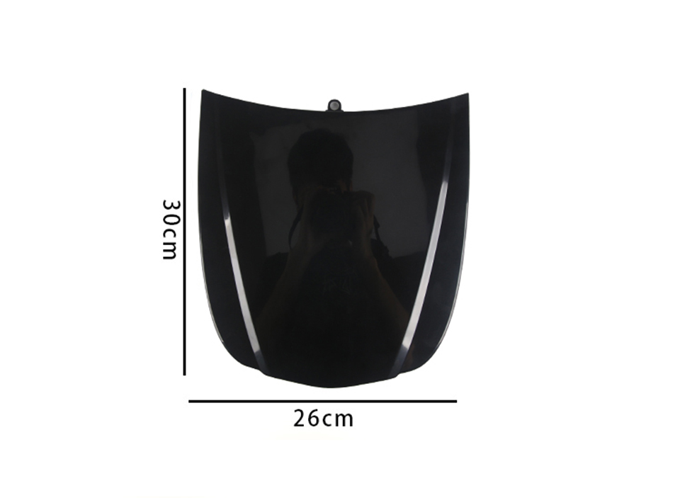Image 2 - Plastic Mini Hood 26*30cm Car Bonnet Plasti Dip Display Model Without Paint For Car Wrap displaying MO 179S Whole Sale-in Car Stickers from Automobiles & Motorcycles