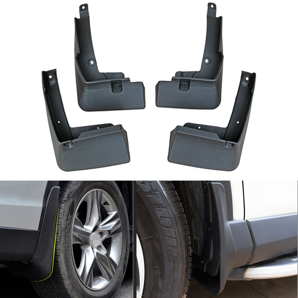 Car Styling 4pcs Front&rear Plastic Molded Splash Guards Mud Fender Mud Flap For Toyota C-hr Chr 2016 2017 2018 Back To Search Resultsautomobiles & Motorcycles Awnings & Shelters