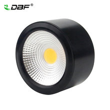 Surface Mounted Downlight 3W 5W 7W 10W Dimmable cob downlight AC110/220V led ceiling light spot light with Driver(China)