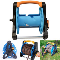 Garden Hose Reel Stand Water Pipe Storage Rack Cart Holder Bracket for 35m 1/2 Inch Hose XH8Z MA18