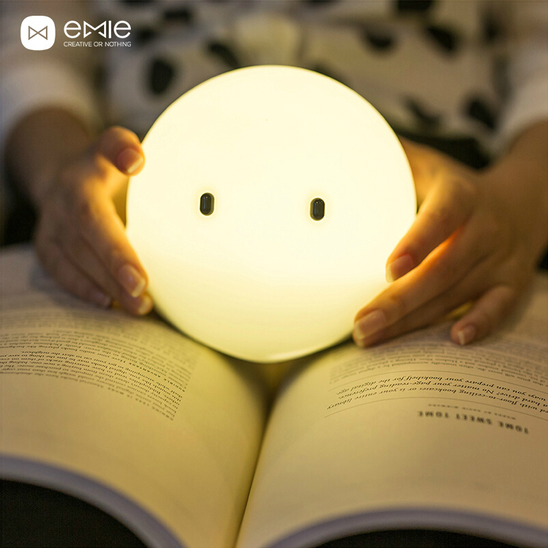 Elves intelligent lamp, creative atmosphere of the head of a bed charge small night lights, LED night light fluid mechanics of the atmosphere 47