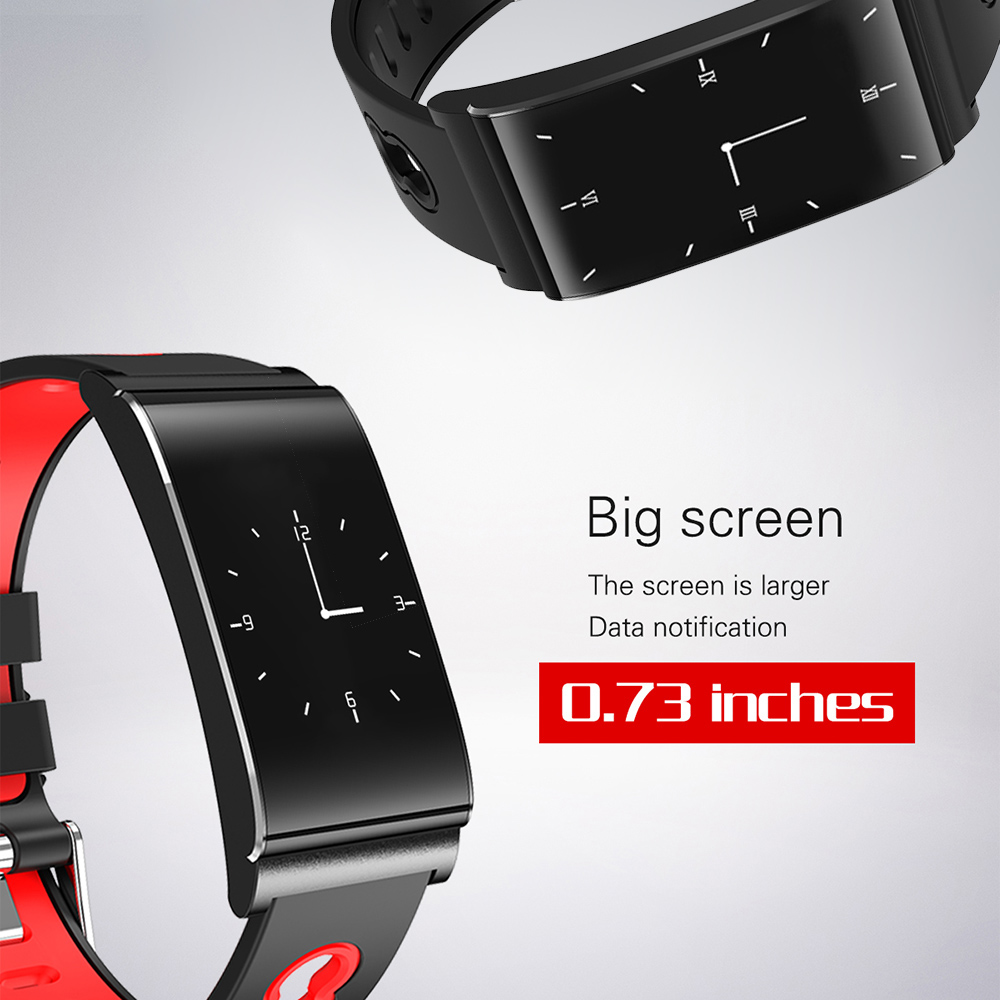 Smart Women Watch Bracelet Heart Rate Monitor Wristband Pedometer Sleep Fitness Tracker Men Smart Band With OLED Screen