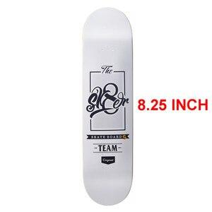 Image 5 - SK8ER Canadian Maple Skateboard Decks 8.25 inch Quality 8 Layers Canadian Maple Skate Deck For Skateboarding with 1 griptape
